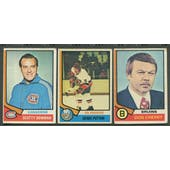1974/75 Topps Hockey Complete Set (GOOD)