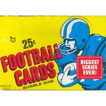 1973 Topps Football Cello Box