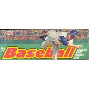 1975 Topps Baseball Wax Box