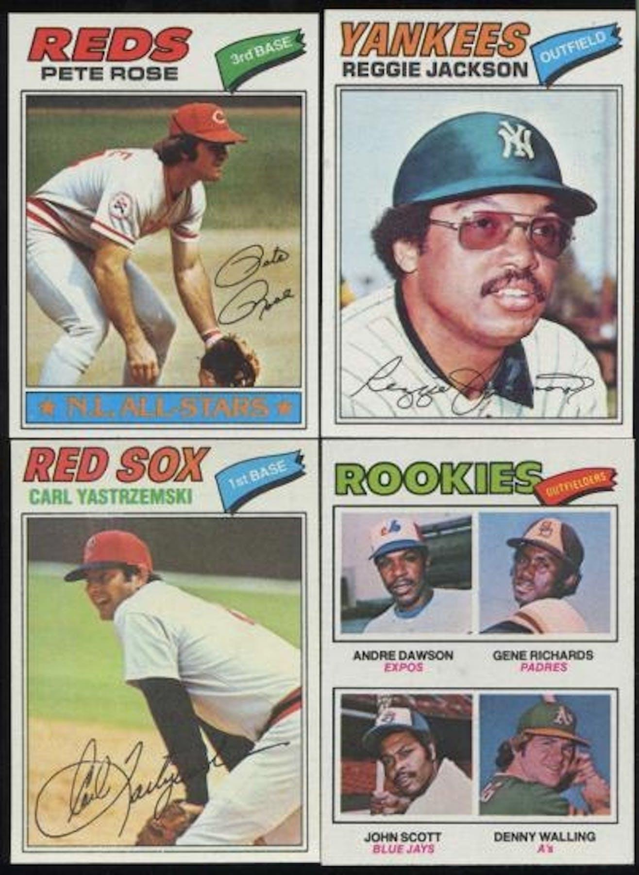 1977 Topps Baseball Complete Set Nm Mt Da Card World