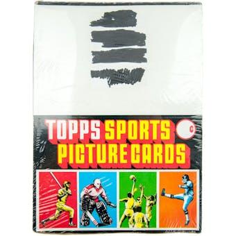 1978 Topps Baseball Rack Box
