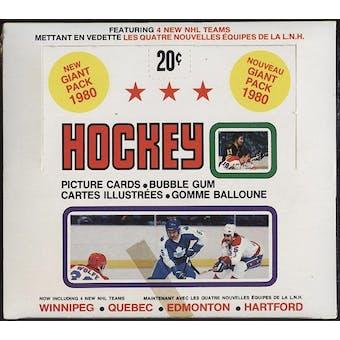 1979/80 O-Pee-Chee Hockey Wax Box