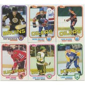 1981/82 Topps Hockey Complete Set (EX-MT)