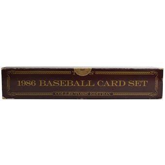 1986 Topps Tiffany Baseball Factory Set