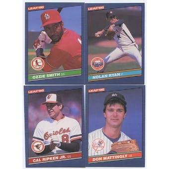 1986 Donruss Leaf Baseball Complete Set (NM-MT)