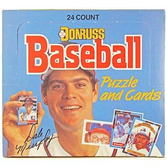 1988 Donruss Baseball Cello Box