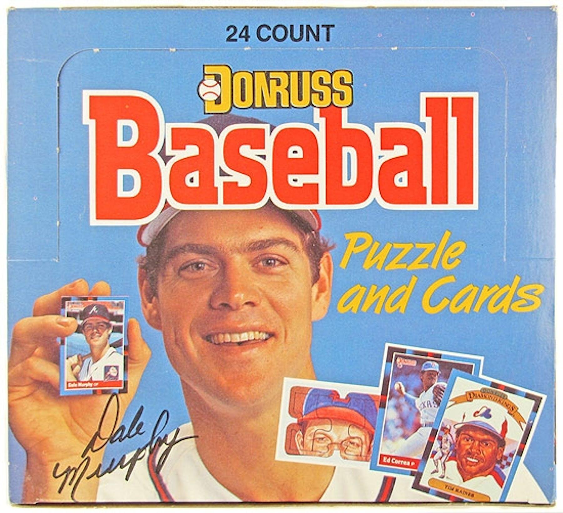 1988 Donruss Baseball Cello Box Da Card World