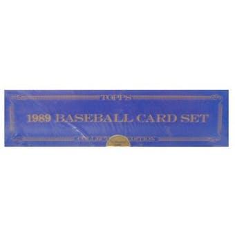 1989 Topps Tiffany Baseball Factory Set