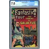 Fantastic Four #48 CGC 7.0 (OW-W) *1991746001*
