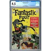 Fantastic Four #2 CGC 4.5 (OW-W) *1991969001*