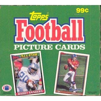1991 Topps Football Cello Box
