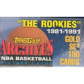 1993 Topps Archives Basketball Factory Set