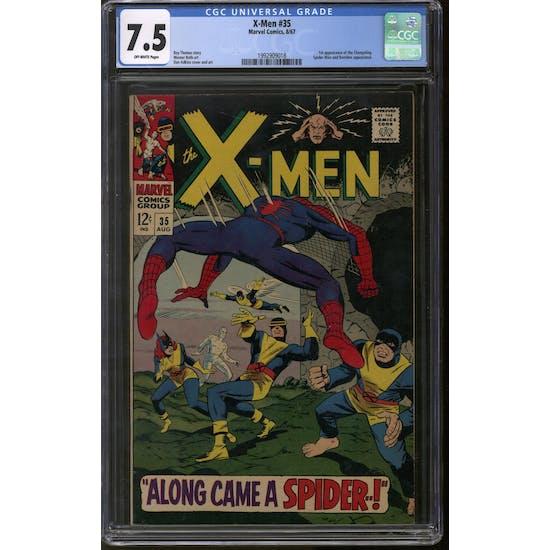 X-Men #35 CGC 7.5 (OW) *1992909018*