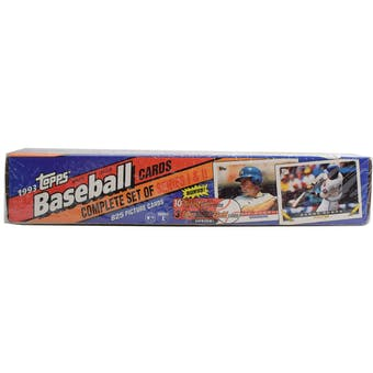 1993 Topps Baseball Factory Set