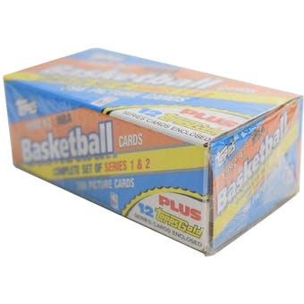 1992/93 Topps Basketball Factory Set
