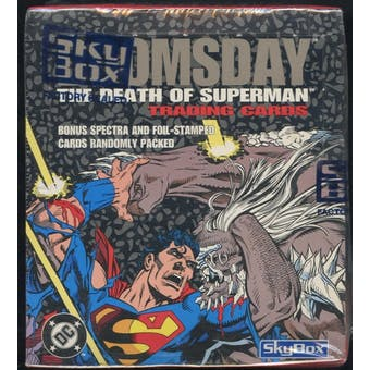 Doomsday The Death of Superman Box (1992 Skybox)