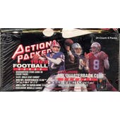 1993 Action Packed Series 1 Football Hobby Box