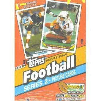 1993 Topps Series 2 Football Hobby Box