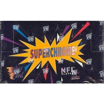 1993 Wild Card Superchrome Football Hobby Box