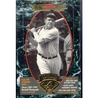 1994 Conlon Collection Baseball Box