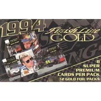 1994 Finish Line Gold Racing Hobby Box