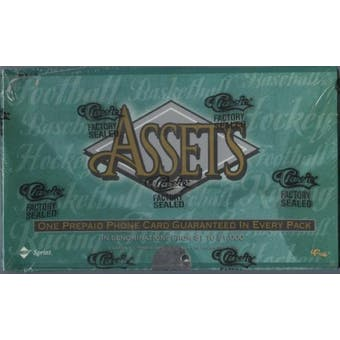 1995 Classic Assets Multi-Sport Retail Box