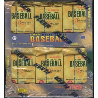 1995 Fleer Series 1 Baseball Jumbo Box