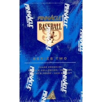 1995 Pinnacle Series 2 Baseball 36 Pack Box