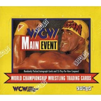 1995 Cardz WCW Main Event Wrestling Hobby Box