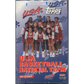1996 Topps USA Women's National Team Basketball Hobby Box