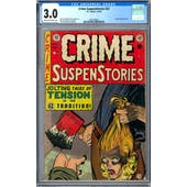 Crime SuspenStories #22 CGC 3.0 (C-OW) *1997180001*