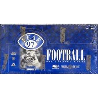 1997 Leaf Football Hobby Box