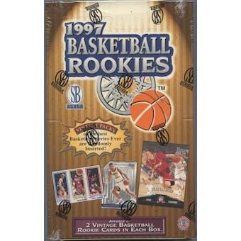 1997 Scoreboard Rookies Basketball Retail Box