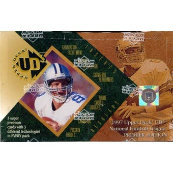 1997 Upper Deck UD3 Football Hobby Box