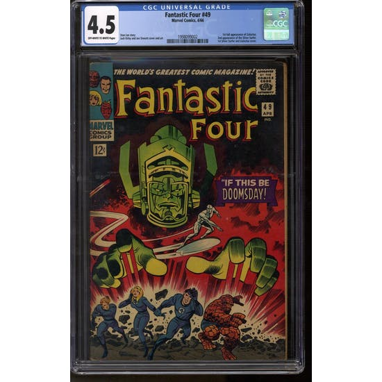 Fantastic Four #49 CGC 4.5 (OW-W) *1998099002*