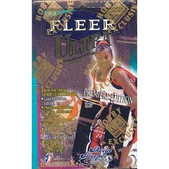1999 Fleer Ultra WNBA Basketball Hobby Box
