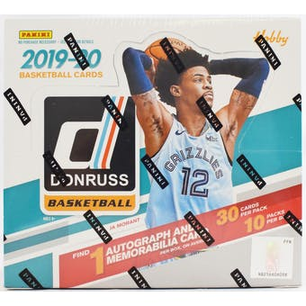 2019/20 Panini Donruss Basketball Hobby Box