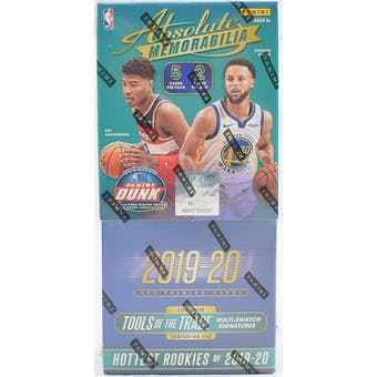 2019/20 Panini Absolute Memorabilia Basketball 10-Box Case- DACW Live 30 Spot Pick Your Team Break #3