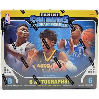 2019/20 Panini Contenders Draft Basketball Hobby Box