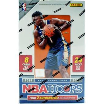 2019/20 Panini Hoops Basketball Hobby Box