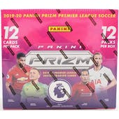 2019/20 Panini Prizm Premier League Soccer Hobby Box