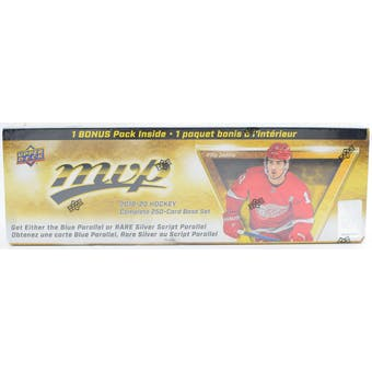 2019/20 Upper Deck MVP Hockey Factory Set (Box)