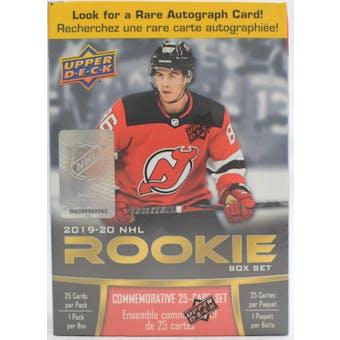 2019/20 Upper Deck Hockey NHL Rookie Box Set