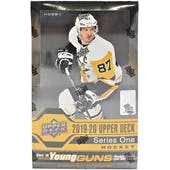 2019/20 Upper Deck Series 1 Hockey Hobby Box