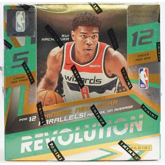 2019/20 Panini Revolution Chinese New Year Basketball Box