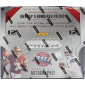 2019 Panini Prizm Football Hobby Box