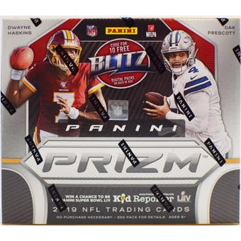2019 Panini Prizm Football 1st Off The Line FOTL Premium Edition Hobby Box