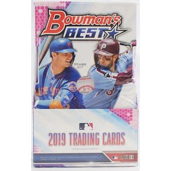 2019 Bowman's Best Baseball 8-Box Case- DACW Live 30 Spot Pick Your Team Break #1