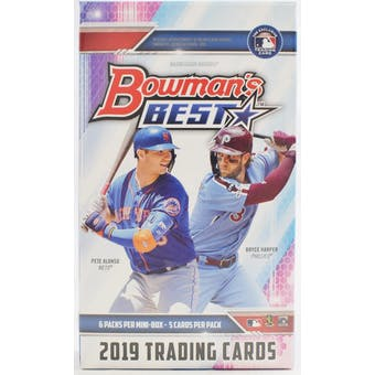 2019 Bowman's Best Baseball Hobby Mini-Box