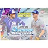 2019 Bowman Chrome Baseball HTA Choice 6-Box- DACW Live 28 Spot Random Team Break #2
